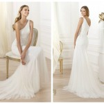 Pronovias 2014, linia Fashion, model Lacan