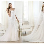 Pronovias 2014, linia Fashion, model Lagara