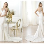 Pronovias 2014, linia Fashion, model Laherie