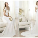 Pronovias 2014, linia Fashion, model Lamas