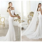 Pronovias 2014, linia Fashion, model Lamber