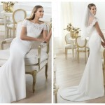 Pronovias 2014, linia Fashion, model Lambina