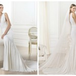 Pronovias 2014, linia Fashion, model Lamero