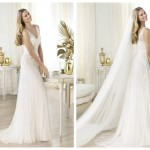 Pronovias 2014, linia Fashion, model Landra