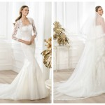 Pronovias 2014, linia Fashion, model Lanete