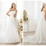 Pronovias 2014, linia Fashion, model Lanna