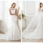 Pronovias 2014, linia Fashion, model Lansi