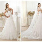 Pronovias 2014, linia Fashion, model Lany