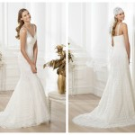 Pronovias 2014, linia Fashion, model Larrue
