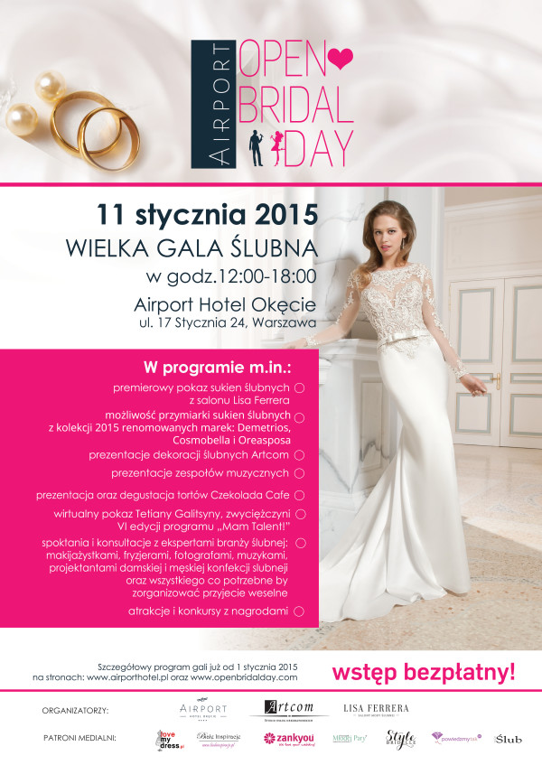 Airport Open Bridal Day